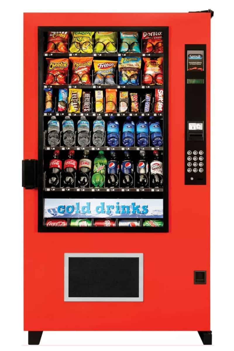 AMS Sensit Combo Vending Machine