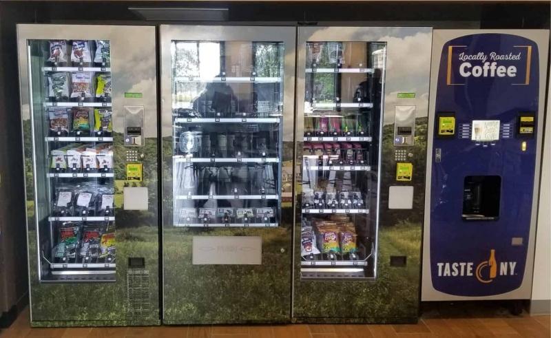 Custom Graphics Vending Machine